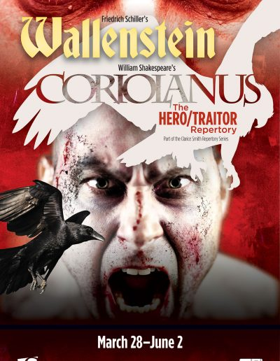 Poster for Wallenstein and Coriolanus
